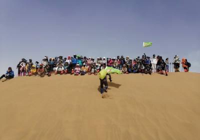 库布齐沙漠徒步穿越三日