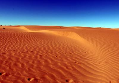 【穿越库布齐沙漠】徒步穿越库布齐沙漠---人生不留遗憾!