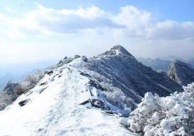 柏峪-黄草梁-北灵山风雪游记