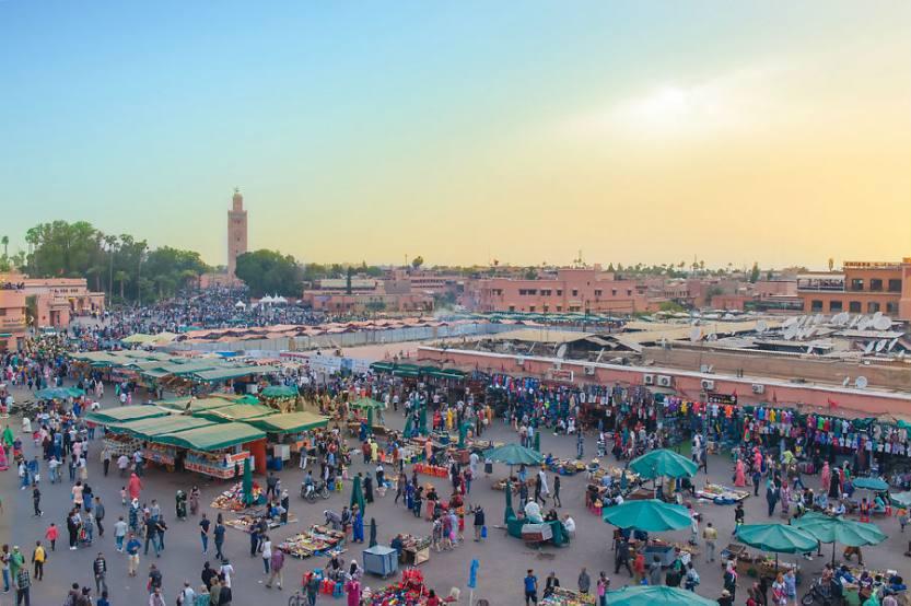 摩洛哥这个美丽小城