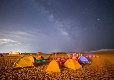 库布齐沙漠徒步穿越