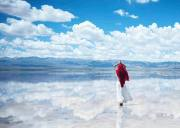 「十一•西北环线」青海湖·茶卡盐湖·翡翠湖·莫高窟·鸣沙山月牙泉·张掖丹霞·额济纳胡杨林·7日游